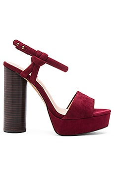Joe's Jeans Hampton Heel in Burgundy