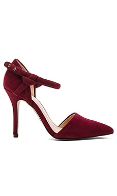 Hamilton Heel in Burgundy
