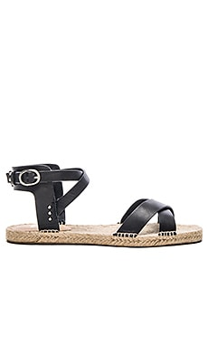 Tiger Sandal in Black