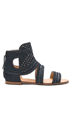 Tahoe Sandal in Blue Denim