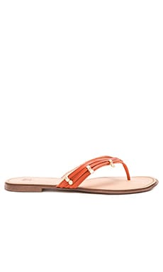 Tasha Sandal in Orange