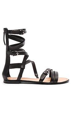 Teddy Sandal in Black