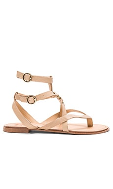 Joe's Jeans Victor Sandal in Latte