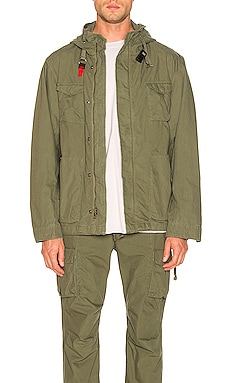 Military Zip Field Jacket JOHN ELLIOTT $698