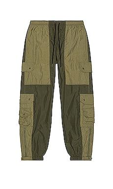 Paneled Nylon Cargo Pants JOHN ELLIOTT $398 NEW