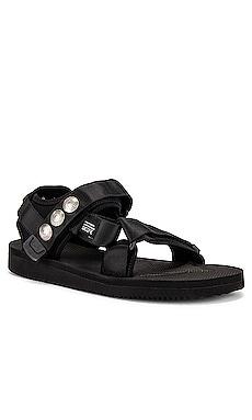 x Blackmeans x Suicoke Lotus Sandal JOHN ELLIOTT $158