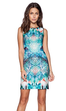 Johanne Beck Adrienne Dress in Ocean Medallion