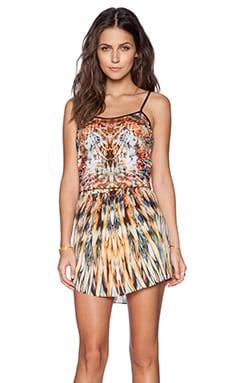 Johanne Beck Luna Dress in Fire Feather