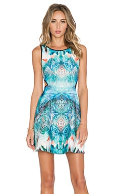 Johanne Beck Claudette Dress in Ocean Medallion