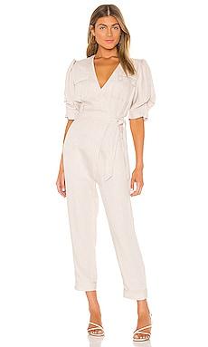 Leroy Linen Jumpsuit Joie $348