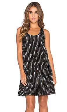 Joie Arianna Shift Dress in Caviar