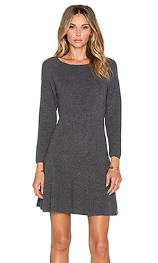 Joie Didiere Sweater Dress in Heather Charcoal