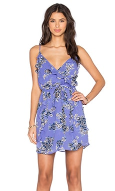 Foxglove Dress in Periwinkle