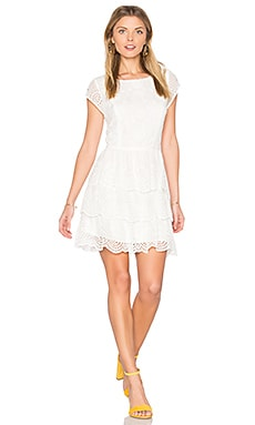 Altha Dress in Porcelain