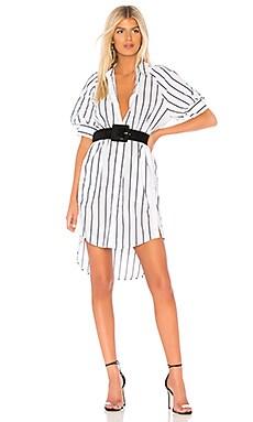Платье-рубашка sephira - Joie, Мини, Китай, Белый  - купить со скидкой