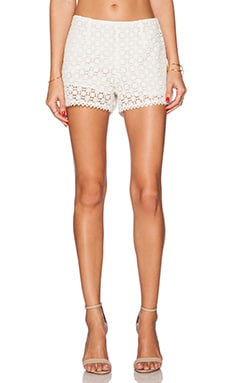 Joie Somme Short in Porcelain