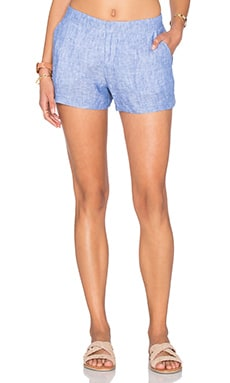 Joie Merci Short in Washed Denim