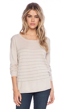 Joie Emmylou Sweater in Pink Champagne Shimmer