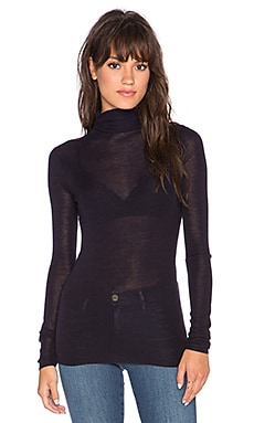 Joie Cenelle Turtleneck Sweater in Dark Navy