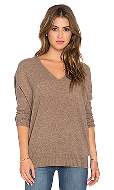 Joie Farynne Dolman Sleeve Sweater in Heather Mahogany