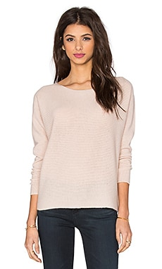 Joie Eachann Cable Knit Sweater in Cloudy Rose