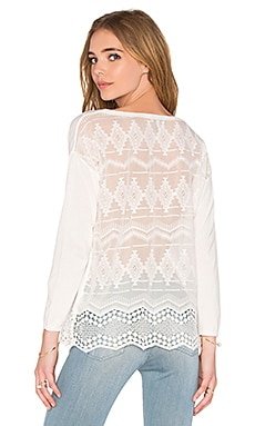 Joie Geolace Sweater in Tsoline