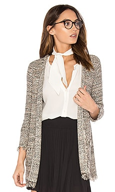 Philisa Cardigan in Caviar Multi