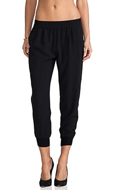 Mariner Cropped Pant in Black