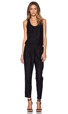 Joie Latiana Jumpsuit in Caviar