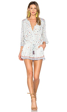 Weldon Romper in Spring Dew