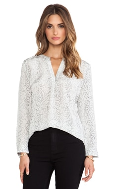 Joie Peterson B Blouse in Charcoal
