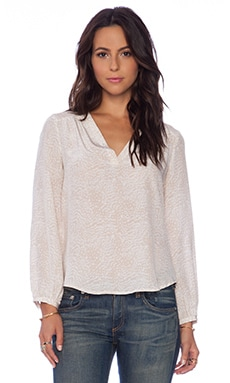Joie Padma Blouse in Pink Champagne