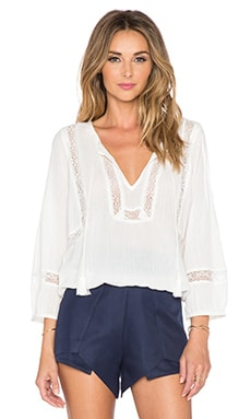 Joie Arcene Top in Porcelain