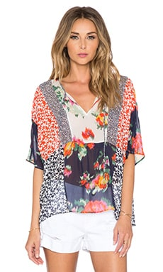 Joie Sian Top in Paradise Red