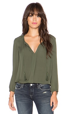 Joie Jacinta Blouse in Military
