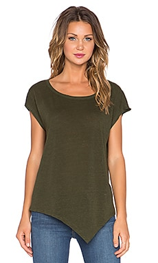 Joie Serotina Short Sleeve Tee in Military