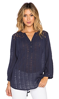 Joie Jaise Top in Dark Navy