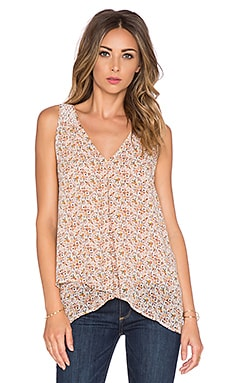 Joie Anselm V Neck Tank in New Moon