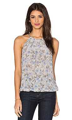 Joie Anatese C Floral Tank in Vapor Grey & Daydream