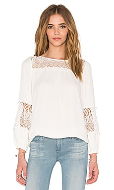 Joie Coastal Top in Porcelain