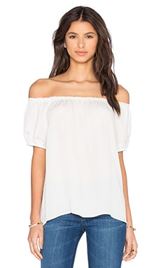 Joie Colfax Top in Porcelain
