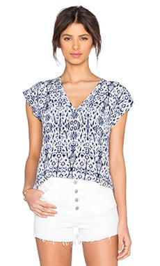 Joie Rubina Top in Porcelain