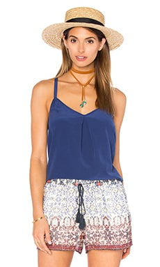 Dylon Cami in Blue Print