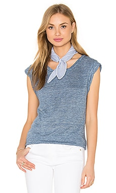 Candella Tee en Heather Faded Sky