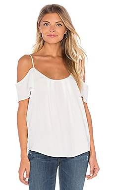 Joie Adorlee Top in Porcelain