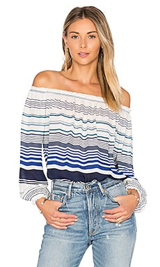 Bamboo Top in Harbor Blue
