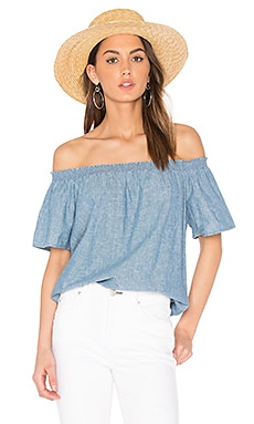 Amesti B Top en Chambray