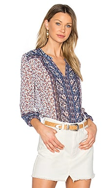 Andala Blouse in Porcelain