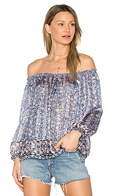 Bamboo B Blouse in Hyacinth
