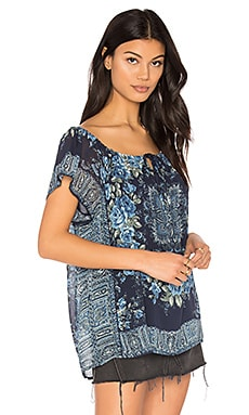Taj Blouse in Dunkles Marineblau